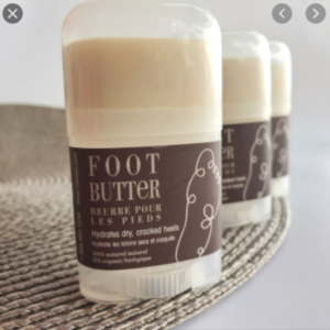 all natural foot butter