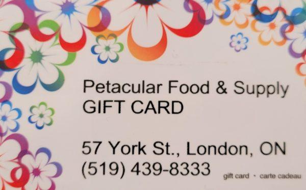 Petacular Gift Card