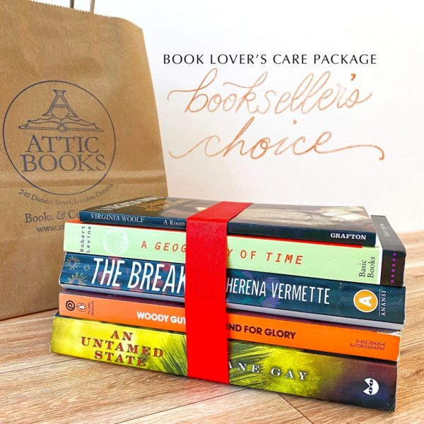 Bookseller's Choice Book Lover's Care Package