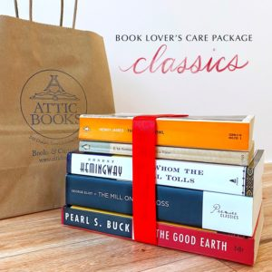 Classics Fiction Book Lover's Care Package