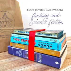 Fantasy & Sci-Fi Book Lover's Care Package