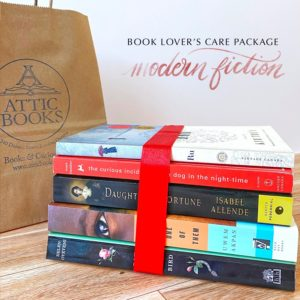 Modern Fiction Book Lover's Care Package