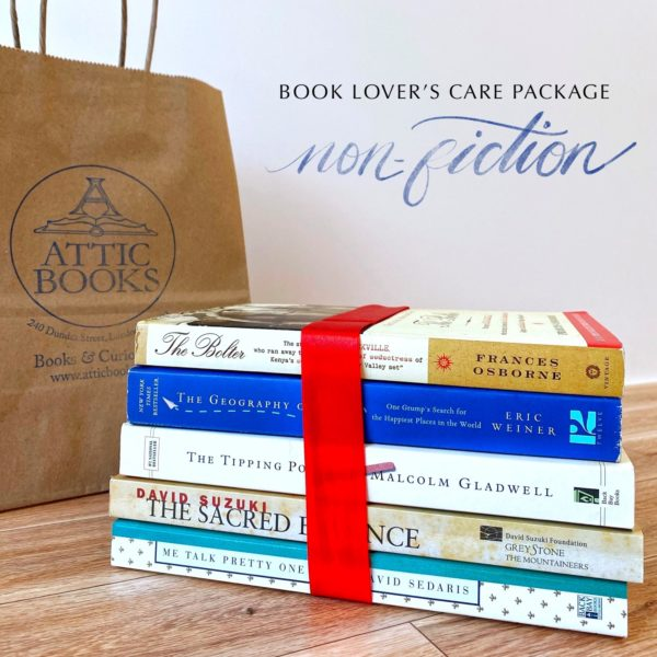 Non-fiction Book Lover's Care Package