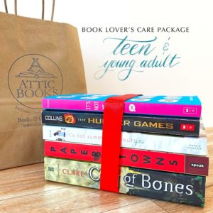 Teen and Young Adult Book Lover's Care Package